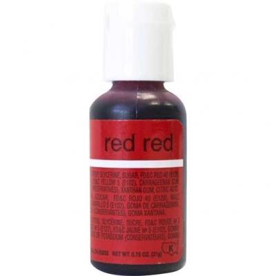 Red red гелевый краситель